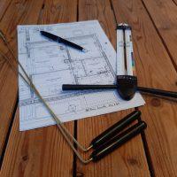 baguettes, antenne, plans